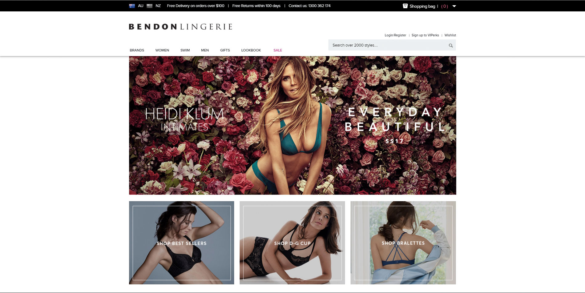 bendonlingerie-home-page
