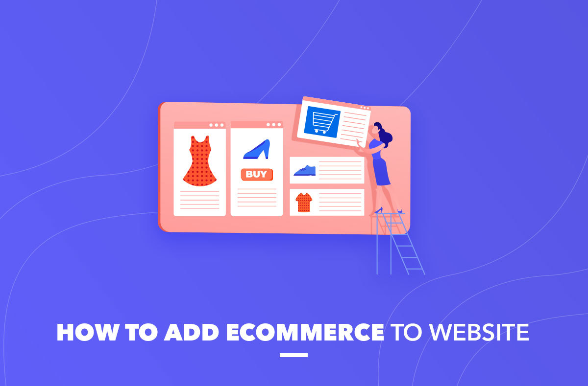 add ecommerce to website