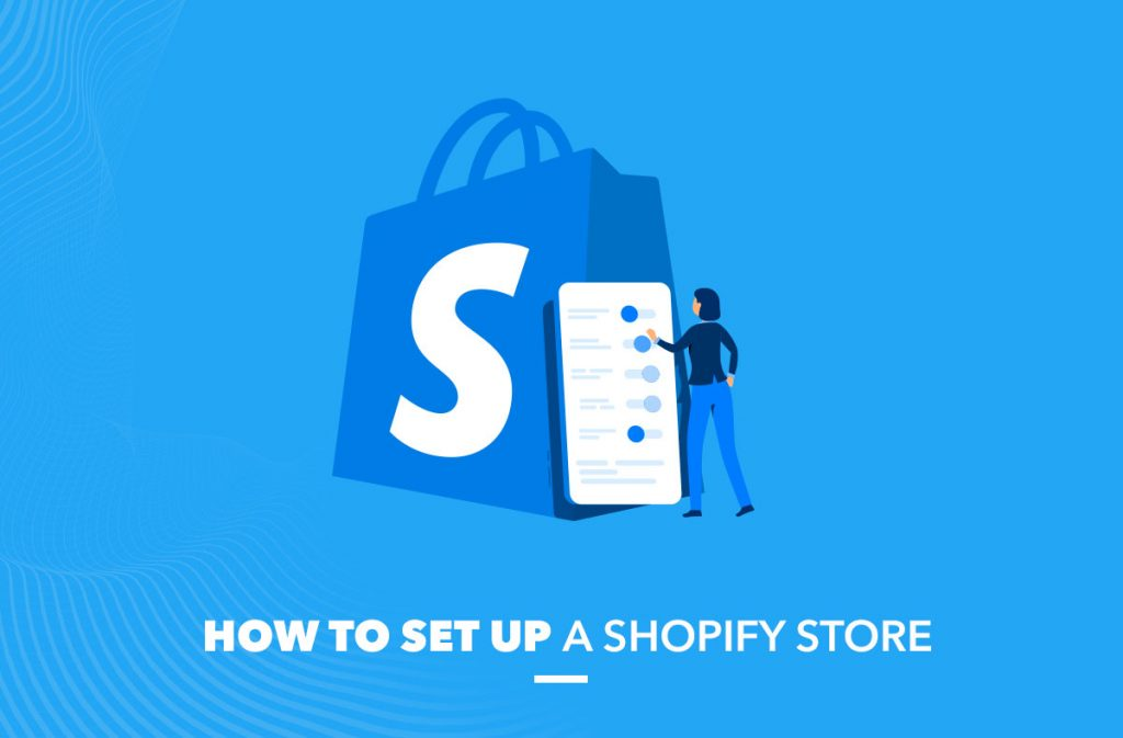 how to set up shopify store