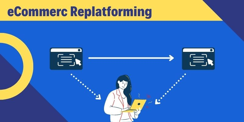 What is ecommerce replatforming