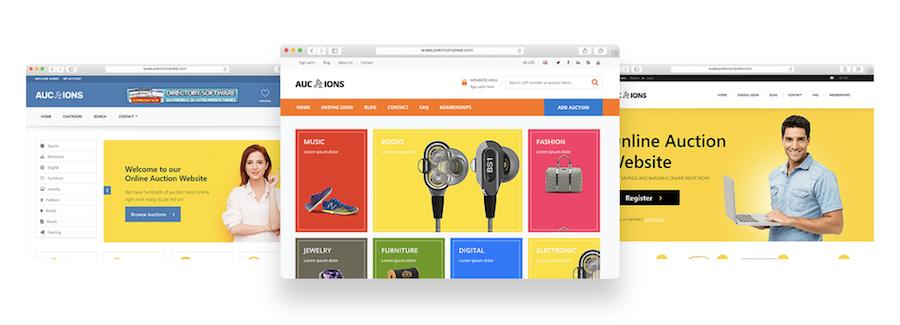 auction website software